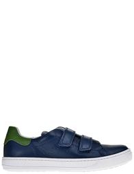 Детские кроссовки для мальчиков Naturino Lenny-navy-verde_blue