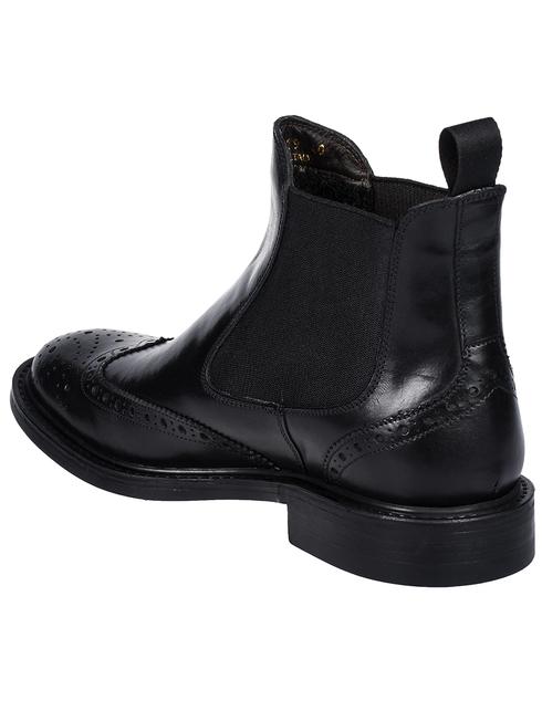 мужские черные Ботинки Brecos 9095 - фото-2