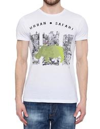 Мужская футболка LIU JO 3255_white
