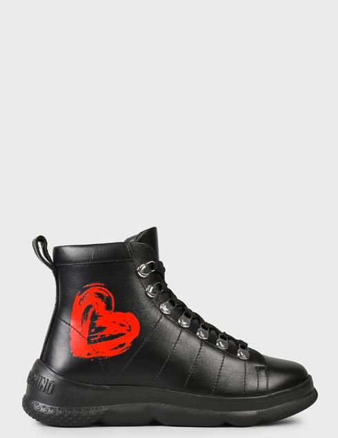 женские черные Ботинки Love Moschino JA15514G0DIE0000 - фото-6