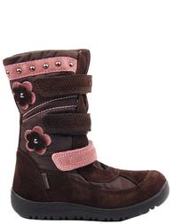 Детские сапоги для девочек NATURINO Rose-brown