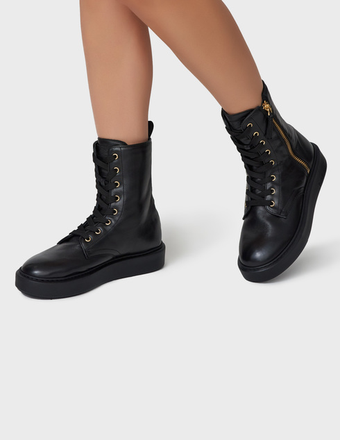 черные Ботинки Baldinini AGR-D2BG09NAPP0000