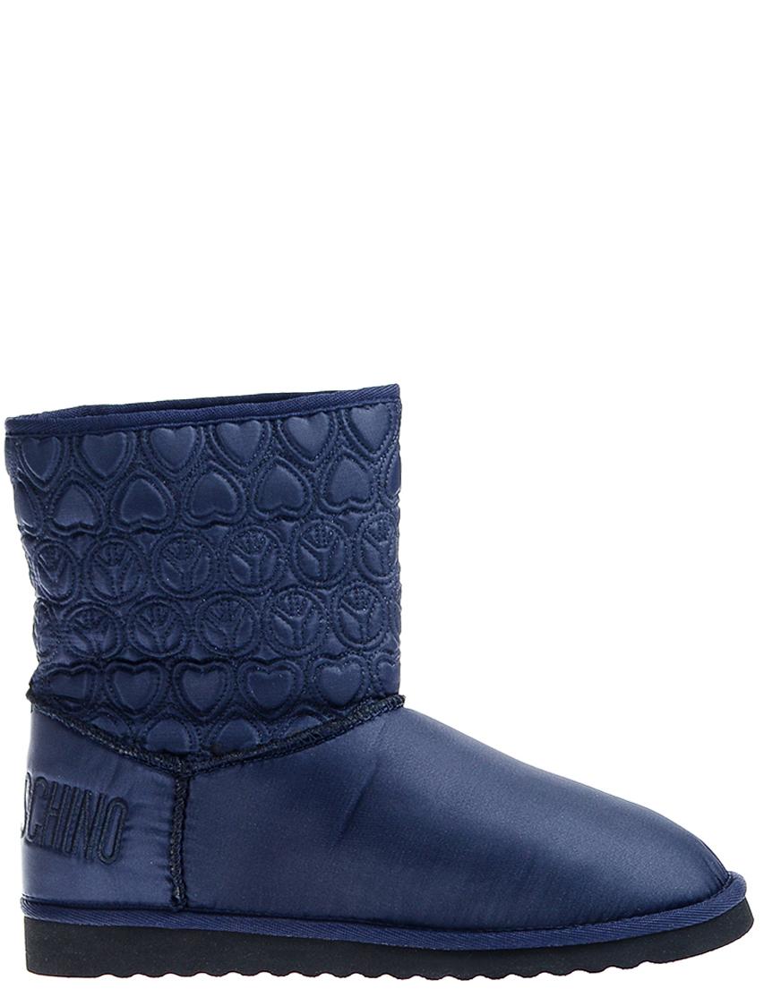 Женские угги Love Moschino 24133_blue