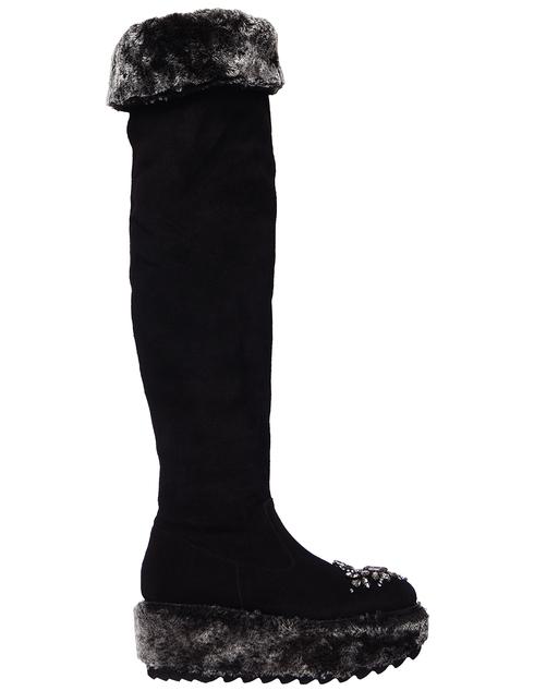 черные Ботфорты Sebastian 7491_black размер - 36