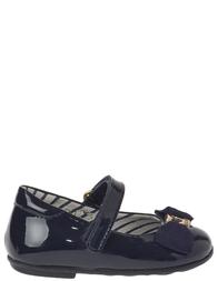 Детские туфли для девочек MOSCHINO 25413_blue