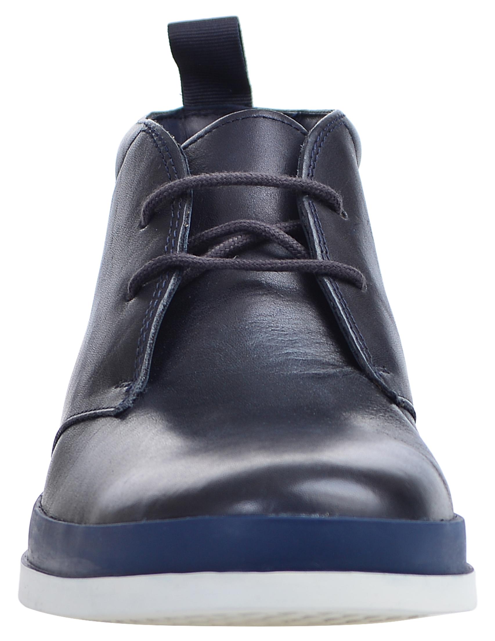 Фото 6 - мужские ботинки и полуботинки  синего цвета