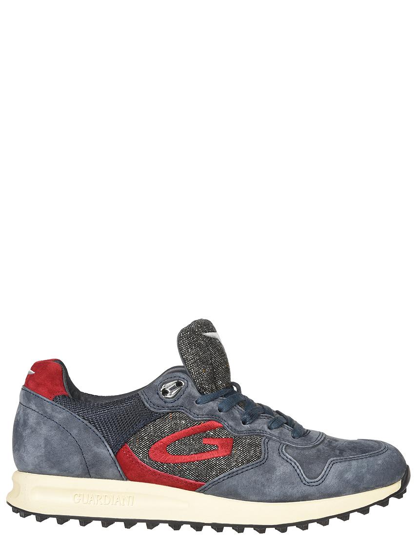 Мужские кроссовки Alberto Guardiani 77401-blu-grey-mix_blue
