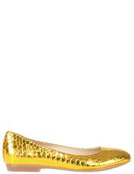 Женские балетки RENZI 501112А_gold