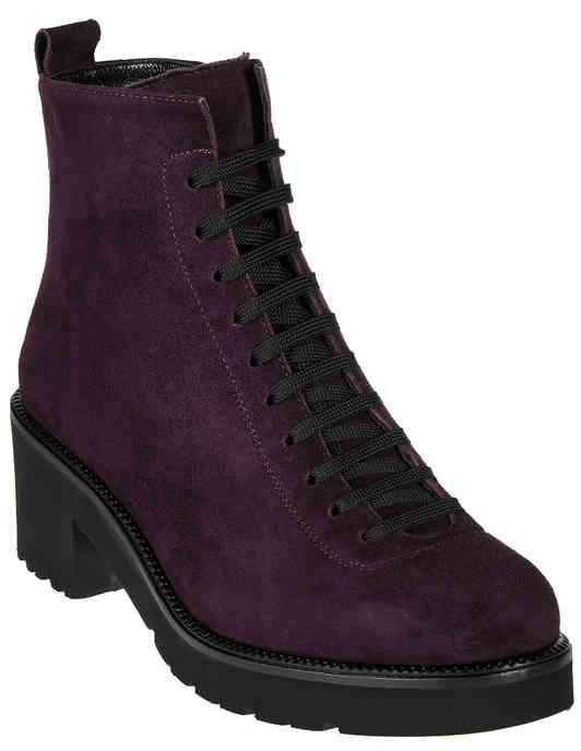 женские фиолетовые Ботинки Mot-Cle DS0616_purple - фото-2