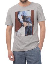 Мужская футболка TRUSSARDI JEANS 52T52113