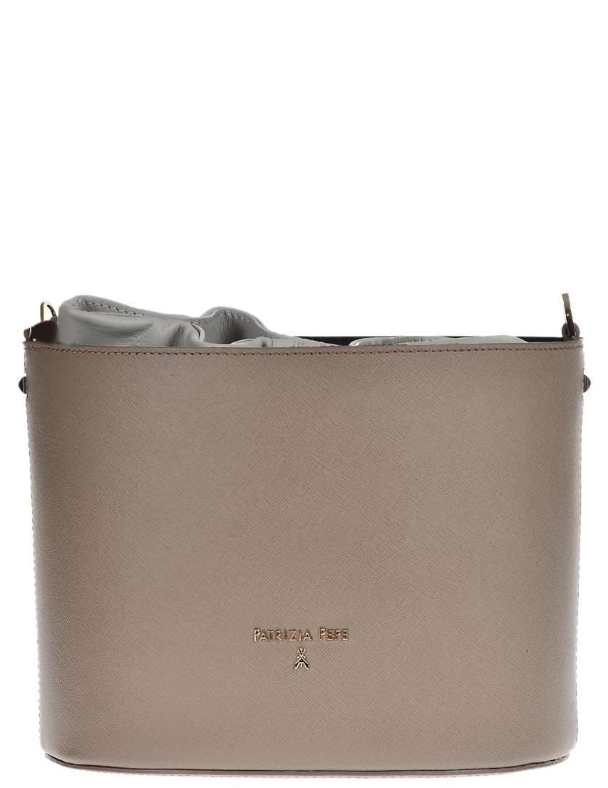 Купить Женские сумки, Сумка, PATRIZIA PEPE, Серый, Осень-Зима