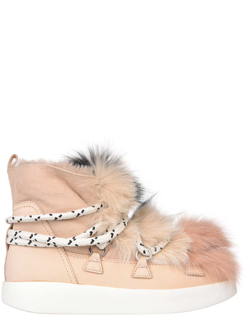 Женские ботинки My Grey 025-М-NB-fox_pink