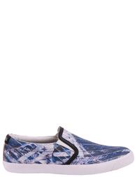 Мужские слипоны JUST CAVALLI 079-blue