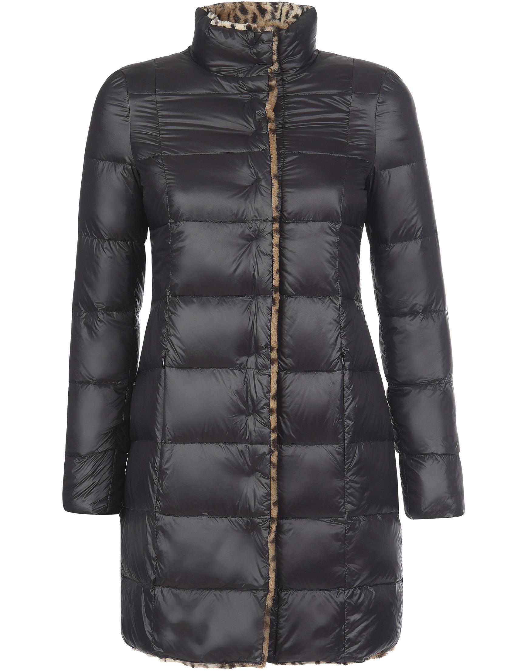 Купить Пальто, PATRIZIA PEPE, Черный, 10%Перо 90%Пух, Осень-Зима