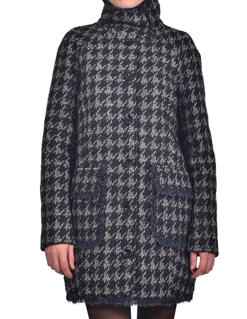 Купить Пальто, PATRIZIA PEPE, Многоцветный, Осень-Зима