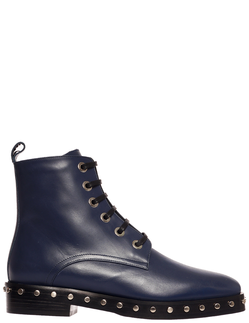 Купить Ботинки, EDDY DANIELE, Синий, Осень-Зима