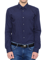 Мужская рубашка HUGO BOSS 50375133-410_blue