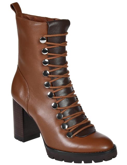 женские коричневые Ботинки What For FW19WF348 - фото-2