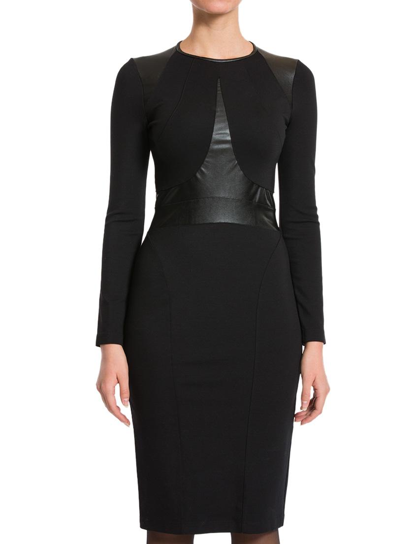 Купить Платье, PLEIN SUD, Черный, 69%Вискоза 25%Полиамид 6%Эластан, Осень-Зима