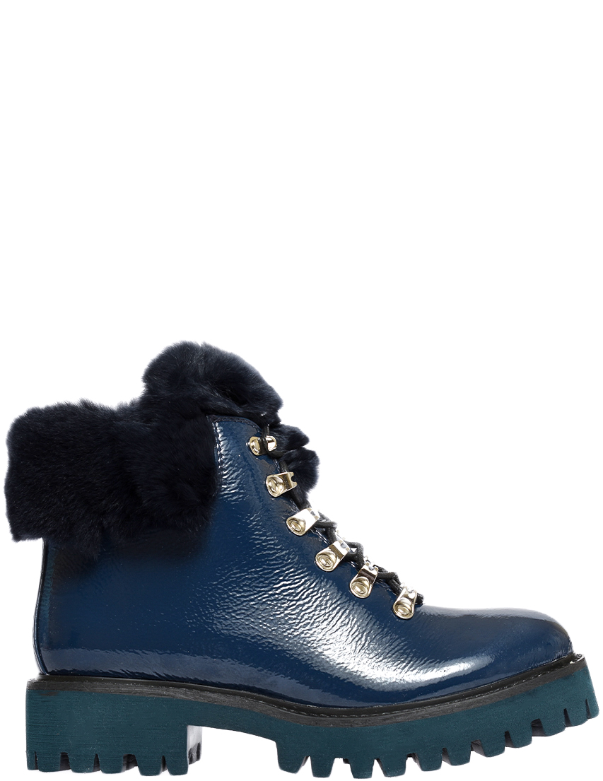 Купить Ботинки, MASSIMO SANTINI, Синий, Осень-Зима