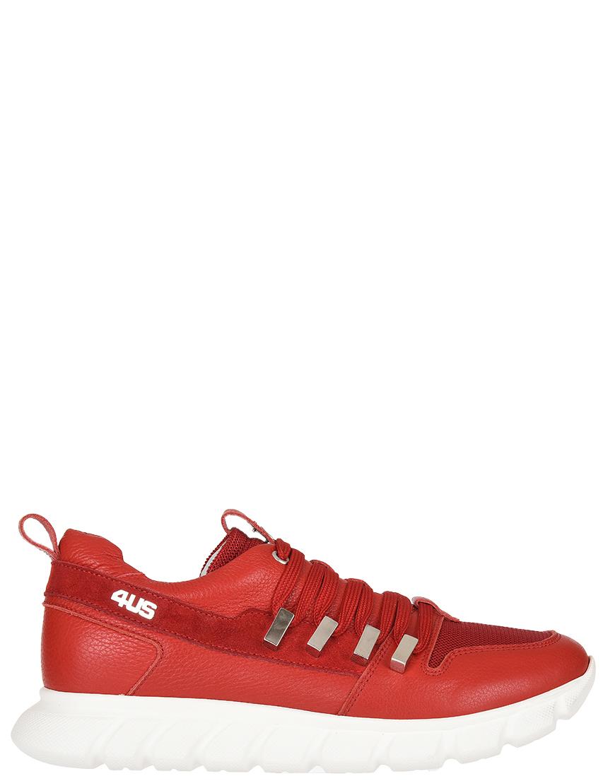 Женские кроссовки 4US Cesare Paciotti 58595-R_red