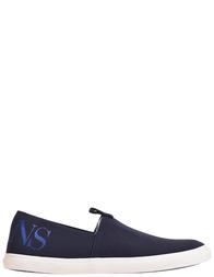 Мужские слипоны Armani Jeans AGR-7422_blue