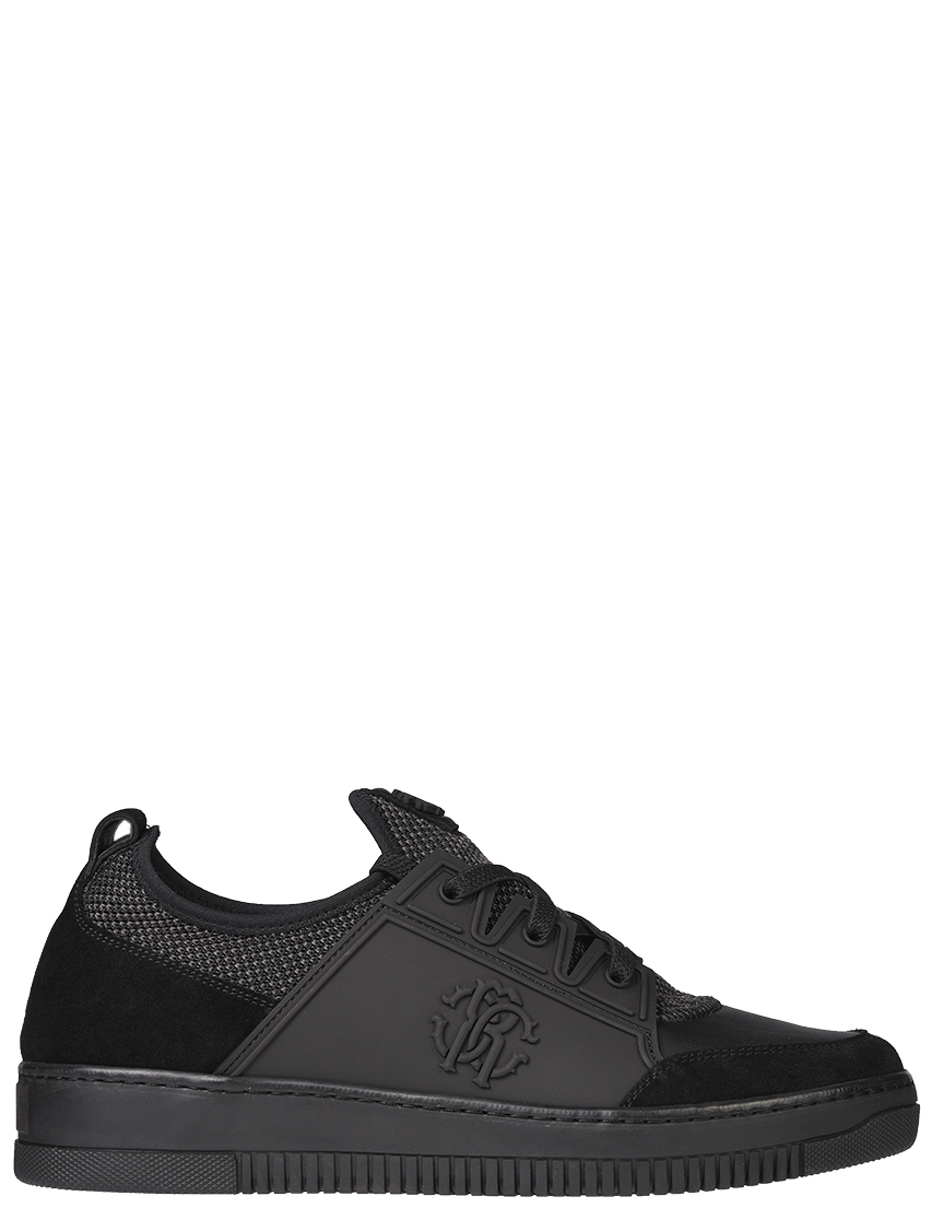Мужские кроссовки Roberto Cavalli 5258_black
