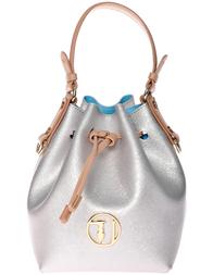 Женская сумка Trussardi Jeans AGR-7505_silver