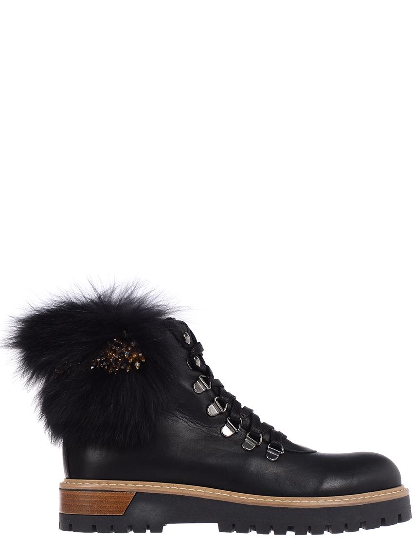 Женские ботинки POKEMAOKE 8212_black