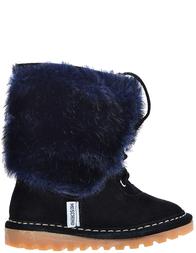 Детские ботинки для девочек Moschino 25212_black