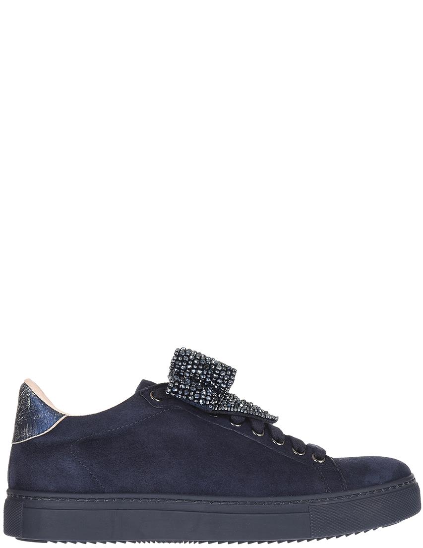Женские кеды Stokton 671D-blunotte-strass_blue