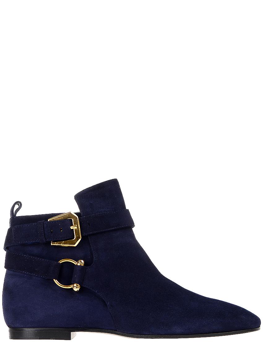 Купить Ботинки, INES DE LA FRESSANGE, Синий, Осень-Зима