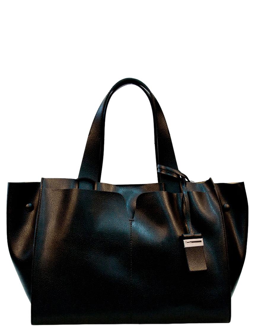 Купить Женские сумки, Сумка, GIANNI CHIARINI, Черный, Весна-лето