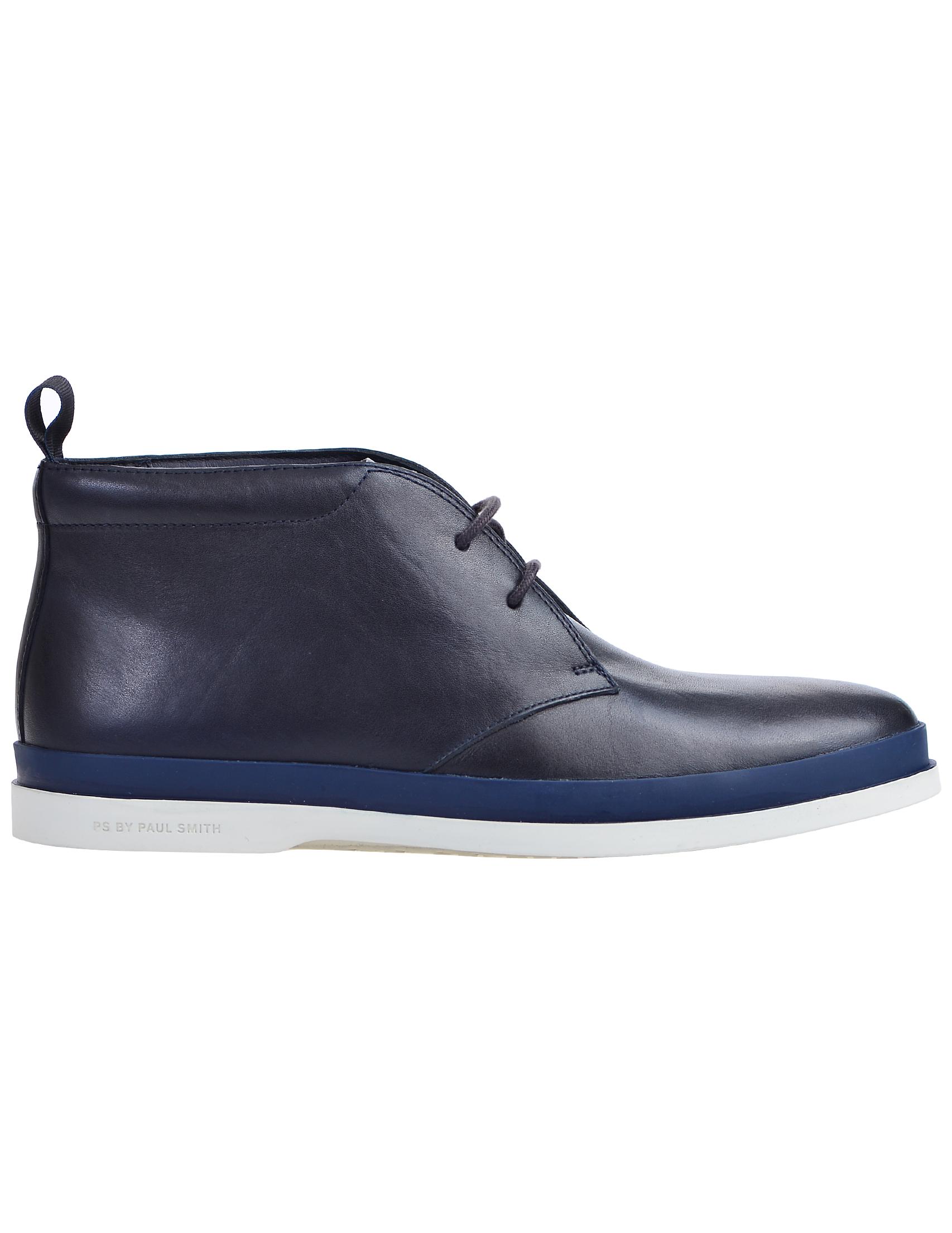 Фото 3 - мужские ботинки и полуботинки  синего цвета