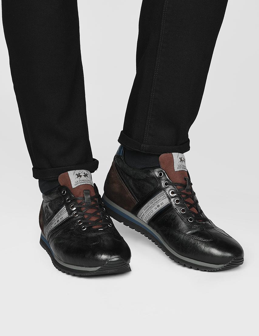 Мужские кроссовки La Martina N6050_black