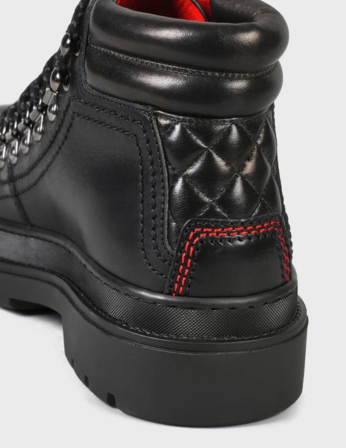мужские черные кожаные Ботинки Fabi FU0346D-404 - фото-5
