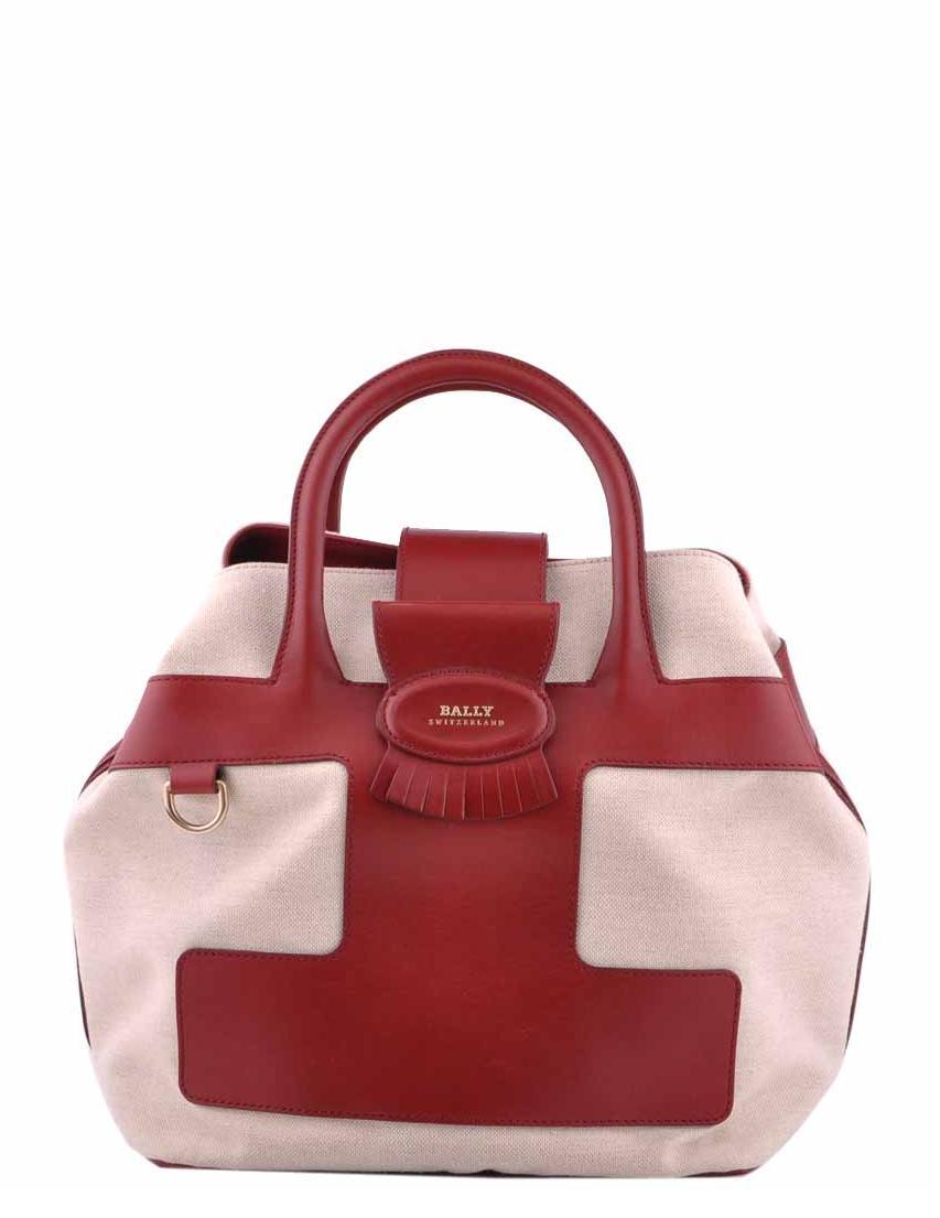Купить Женские сумки, Сумка, BALLY, Бордовый, Весна-Лето