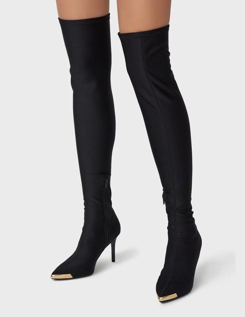 черные Ботфорты Versace Jeans Couture 71VA3S53-899