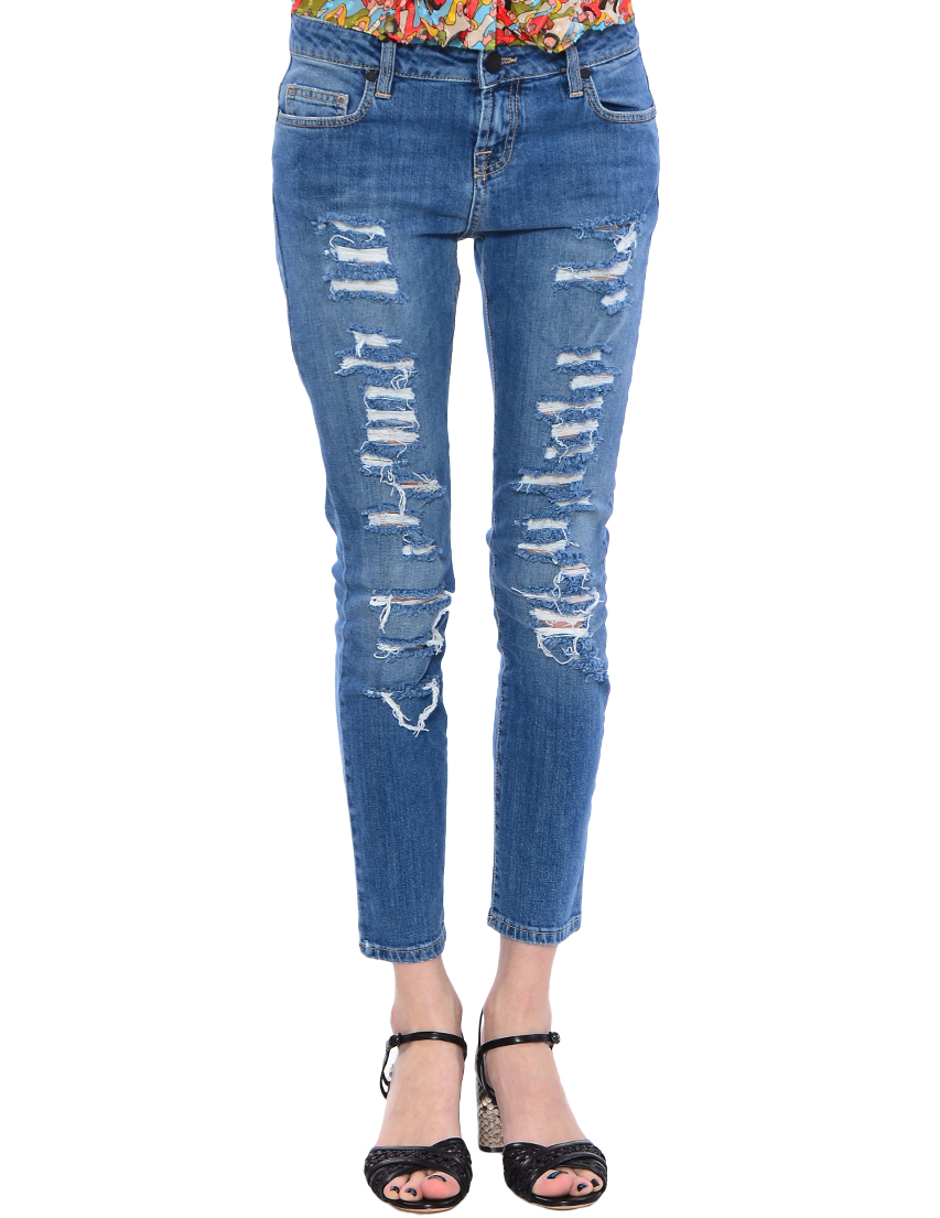 Женские джинсы UP JEANS UWPA0833--denim