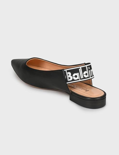 женские черные Босоножки Baldinini 166200P11Z2NAPI000 - фото-2