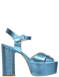 Женские босоножки Norma J.Baker 2114-laminat-blu