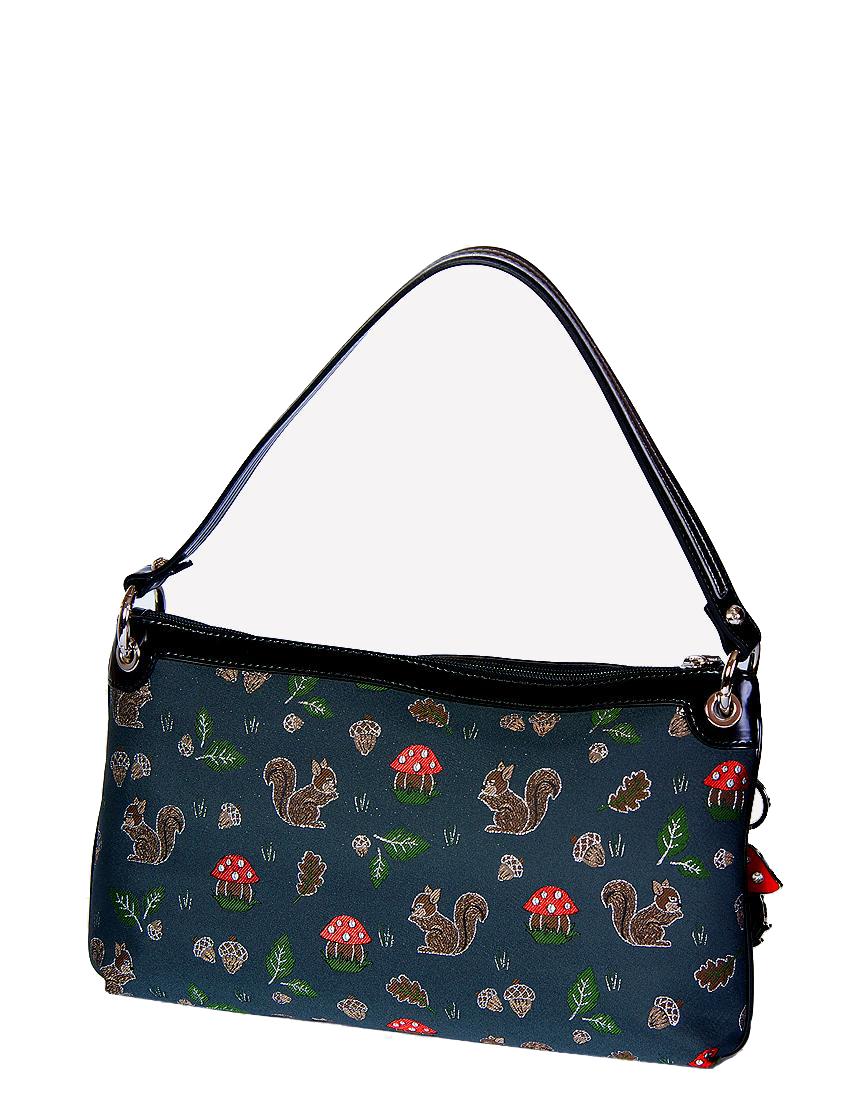 Купить Женские сумки, Сумка, BRACCIALINI, Серый, 100%Текстиль, Осень-Зима