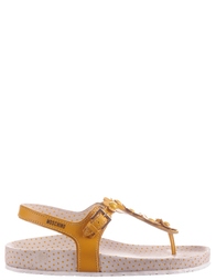 Детские сандалии для девочек MOSCHINO 25489-yellow