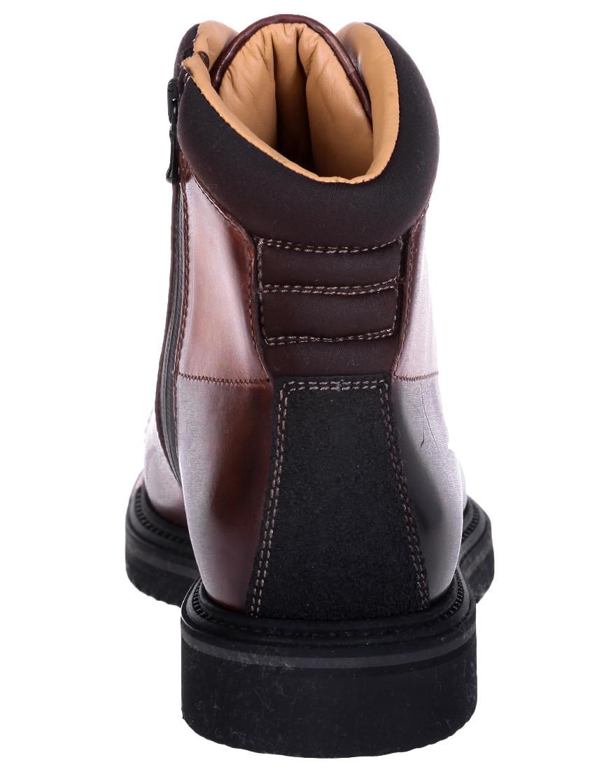 Фото 4 - мужские ботинки и полуботинки  коричневого цвета