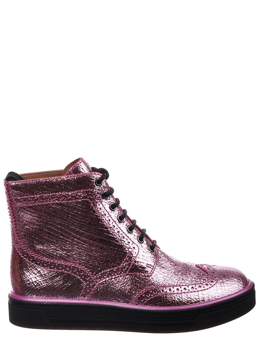 Купить Ботинки, MARC BY MARC JACOBS, Розовый, Осень-Зима