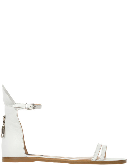 женские белые Босоножки Patrizia Pepe 2V8767/A3RL-W146 - фото-6