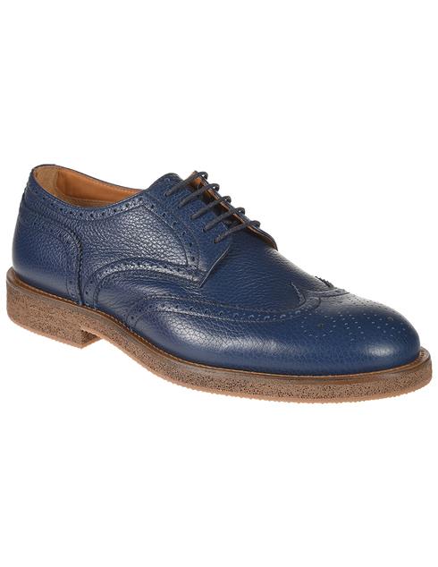 синие мужские Дерби Doucal'S DU1367PEREUZ109KB00 7907 грн