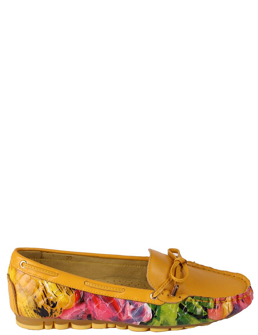 Женские мокасины FRANCESCO VALERI 622-yellow