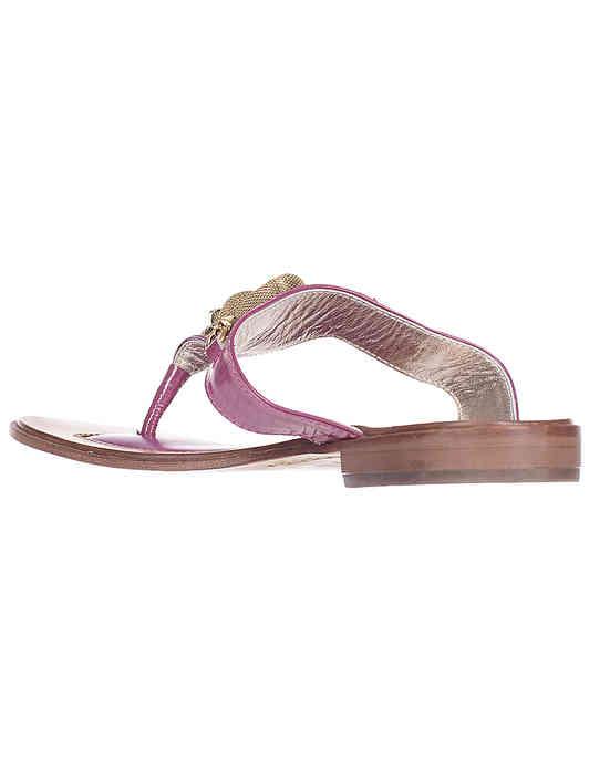 фиолетовые женские Пантолеты Massimo Santini 68_purple 2099 грн