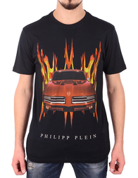 Мужская футболка PHILIPP PLEIN 341052_black